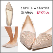 SOPHIA WEBSTER Casual Style Plain Party Style Office Style Elegant Style