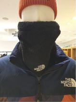 THE NORTH FACE WHITE LABEL Unisex Street Style Knit & Fur Scarves