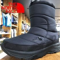 THE NORTH FACE Mountain Boots Rubber Sole Casual Style Unisex Plain