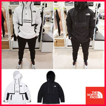 THE NORTH FACE WHITE LABEL Unisex Street Style Long Sleeves Plain Logo Hoodies