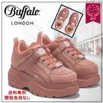 Buffalo LONDON Platform Rubber Sole Lace-up Casual Style Street Style