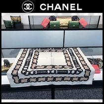 CHANEL Casual Style Silk Chain Plain Party Style Home Party Ideas