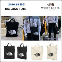 THE NORTH FACE WHITE LABEL Casual Style Unisex Canvas 2WAY Logo Totes