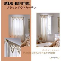Urban Outfitters Unisex Plain Ethnic Morroccan Style Curtains