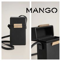 MANGO Casual Style Party Style Elegant Style Bags
