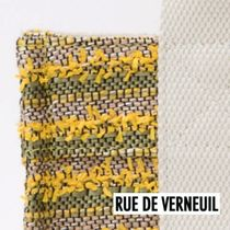 RUE DE VERNEUIL Other Plaid Patterns Casual Style Canvas 2WAY Bi-color