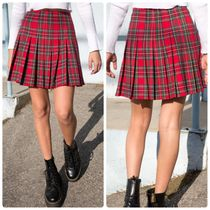 Brandy Melville Short Glen Patterns Tartan Other Plaid Patterns