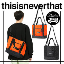 thisisneverthat Casual Style Unisex Nylon Street Style A4 2WAY Totes