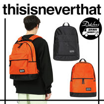 thisisneverthat Casual Style Unisex Nylon Street Style A4 Backpacks