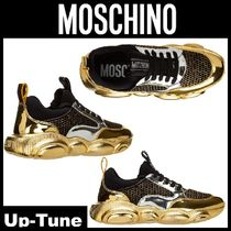 Moschino Street Style Leather Sneakers