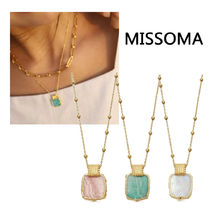 MISSOMA Silver 18K Gold Office Style Elegant Style