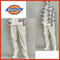 Dickies Tapered Pants Street Style Collaboration Plain Cotton