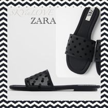 ZARA Dots Casual Style Mules Sandals Sandal