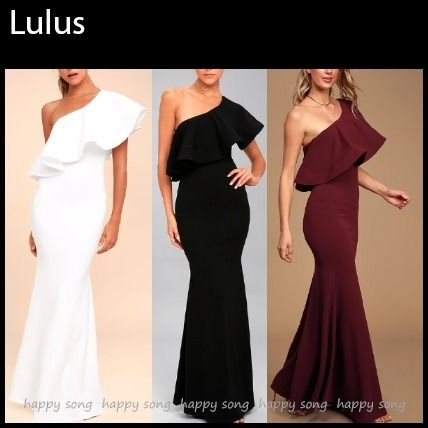 Maxi Plain Long Dresses