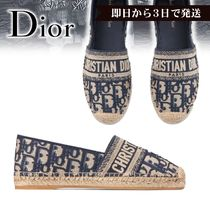 Christian Dior Casual Style Elegant Style Flats