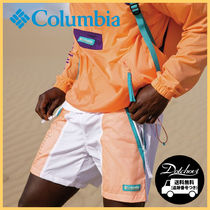 Columbia Unisex Nylon Logo Shorts