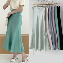 Casual Style Street Style Plain Long Office Style Bridal