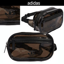 adidas Casual Style Street Style 2WAY Plain Crystal Clear Bags