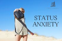 STATUS ANXIETY Leather Shoulder Bags