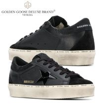 Golden Goose Star Plain Leather Low-Top Sneakers