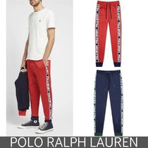 POLO RALPH LAUREN Tapered Pants Unisex Street Style Plain Tapered Pants