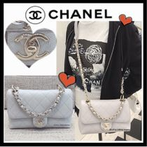 CHANEL MATELASSE Casual Style Calfskin 2WAY 3WAY Chain Plain Shoulder Bags