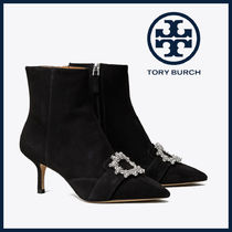 Tory Burch Suede Pin Heels Party Style Office Style Elegant Style