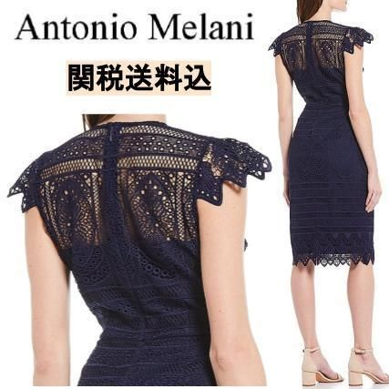 Tight Plain Medium Short Sleeves Party Style Lace
