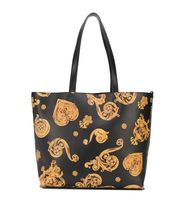 VERSACE JEANS Unisex Street Style Logo Totes
