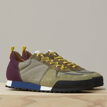 CLOSED Suede Blended Fabrics Plain Sneakers