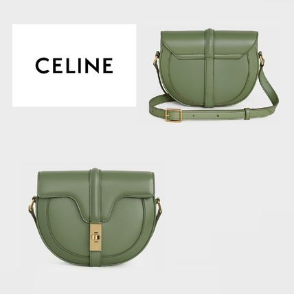 CELINE 16 Small Besace 16 Bag In Satinated Calfskin