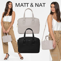 MATT&NAT Casual Style Faux Fur 2WAY Plain Party Style Office Style