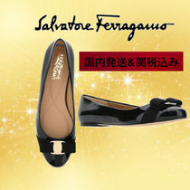 Salvatore Ferragamo Casual Style Leather Office Style Elegant Style