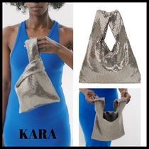 KARA Casual Style Street Style Plain Party Style Office Style