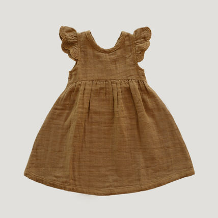 Khaki Kids Girl Dresses