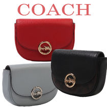 Coach Casual Style Canvas 2WAY Leather Hip Packs