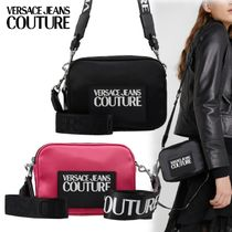 VERSACE JEANS Casual Style Elegant Style Shoulder Bags