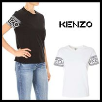 KENZO Cotton Short Sleeves Logos on the Sleeves T-Shirts
