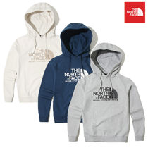 THE NORTH FACE Nuptse Pullovers Unisex Long Sleeves Cotton Hoodies