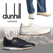 Dunhill Street Style Plain Leather Sneakers