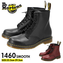Dr Martens 1460 Unisex Plain Leather Boots Boots