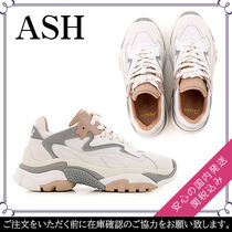 ASH Round Toe Rubber Sole Lace-up Casual Style Street Style