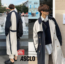 ASCLO Plain Long Oversized Coats