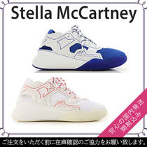 Stella McCartney Street Style Plain Leather Sneakers