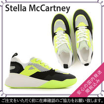 Stella McCartney Faux Fur Street Style Plain Sneakers