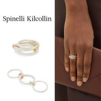 spinelli kilcollin Casual Style Handmade Party Style Silver 18K Gold