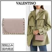 VALENTINO Casual Style Plain Party Style Elegant Style Crossbody