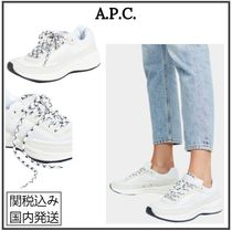 A.P.C. Casual Style Street Style Plain Low-Top Sneakers