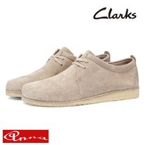Clarks Moccasin Loafers Suede Street Style Plain Loafers & Slip-ons