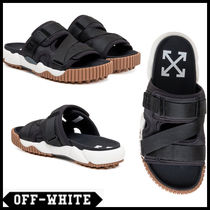 Off-White Street Style Plain Sandals